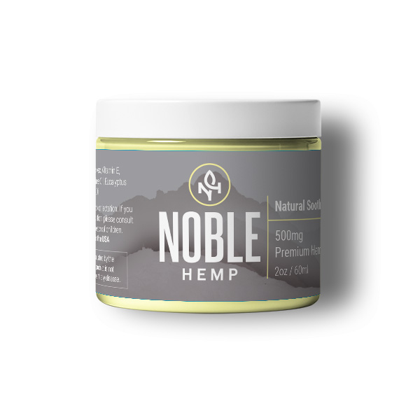 Noble Hemp Soothing CBD Salve