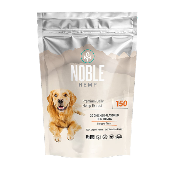 Noble Hemp Daily Dog Treats