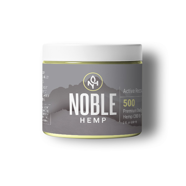 Noble Hemp Active Recovery CBD Balm